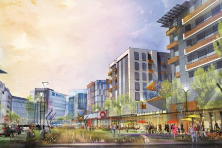 Landmark Redevelopment Rendering